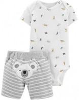 Kurzarmbody Shorts