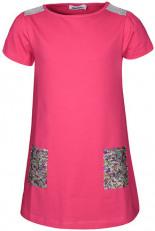 Jersey-Kleid POPPY mit Pailletten