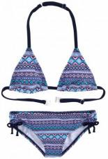 Triangel-Bikini mit Ethno-Druck
