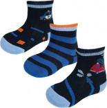 Socken 3er Pack Mehrfarbig