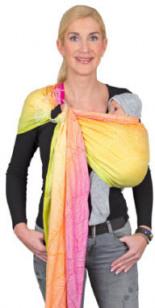 Ring-Sling Jacquard Quito Pastell Limited Edition bunt
