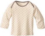 Langarmshirt Bio-Baumwolle Gepunktet