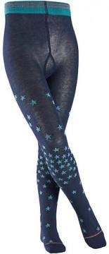 Strumpfhose Melange Stars Sterne