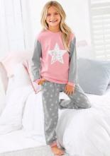 Pyjama Langer Form mit Sternen Print