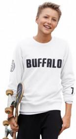 Sweatshirt mit Verschiedenen Drucken