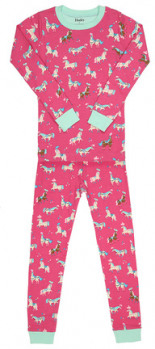 Schlafanzug PARADE HORSES 2-teilig lang
