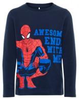 Spiderman-Print T-Shirt mit Langen Ärmeln