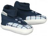 Schuhe WIESLINGE mit Leinen Marine