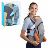 Babytrage Urban Chic Ergonomische Bauchtrage Bequeme Rückentrage mit Sonnenschutz