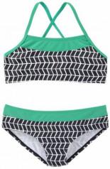 Bustier-Bikini Colorblockingstyle