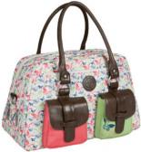 Wickeltasche Metro Bag Vintage Butterfly Spring bunt