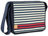 Wickeltasche Casual Messenger Bag Striped Zigzag