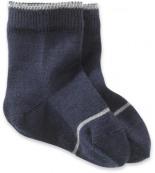 Socke Schurwolle mit Baumwolle