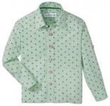Trachtenhemd mit Hirschdruck