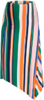 Umstandsrock Pertronella Multi Striped