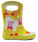 KIDS FIRST CLASSIC PULL PEPPA MUDDY PUDDLES BOOT