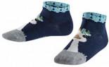 Ostrich Sneakersocken Marine Baumwolle