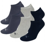 Sneakers Sportsocken 6er Pack grey