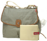 Wickeltasche SATCHEL STRIPE Creme
