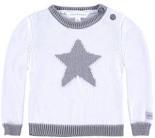 Pullover Langärmlig Weiß