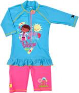 Doc McStuffins Badeanzug mit UV-Schutz Kleinkinder