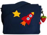Kindergartentasche RAKETE x7cm Personalisierbar