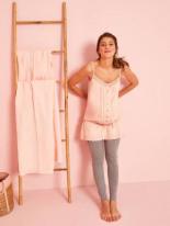 Umstands-Set Nachthemd Leggings von
