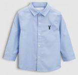 Langärmeliges Oxfordhemd