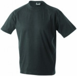 T-Shirt Junior Basic Rundhals Graphite