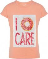 T-Shirt NKFICON mit Wendepailletten Koralle